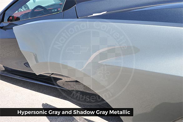 Hypersonic Gray and Shadow Gray
