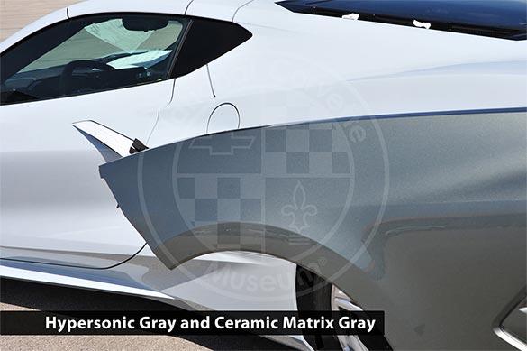 Hypersonic Gray and Ceramic Matrix Gray