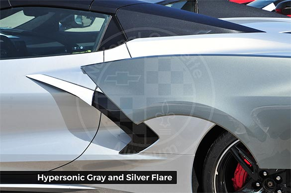 Hypersonic Gray and Silver Flare