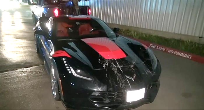 [ACCIDENT] Texas State Representative Arrested for DWI After Crashing His C7 Corvette into a Minivan