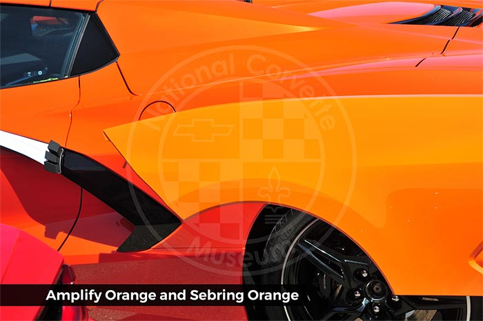 [GALLERY] Corvette Museum Offers New Comparison Photos of the Three New 2022 Exterior Colors
