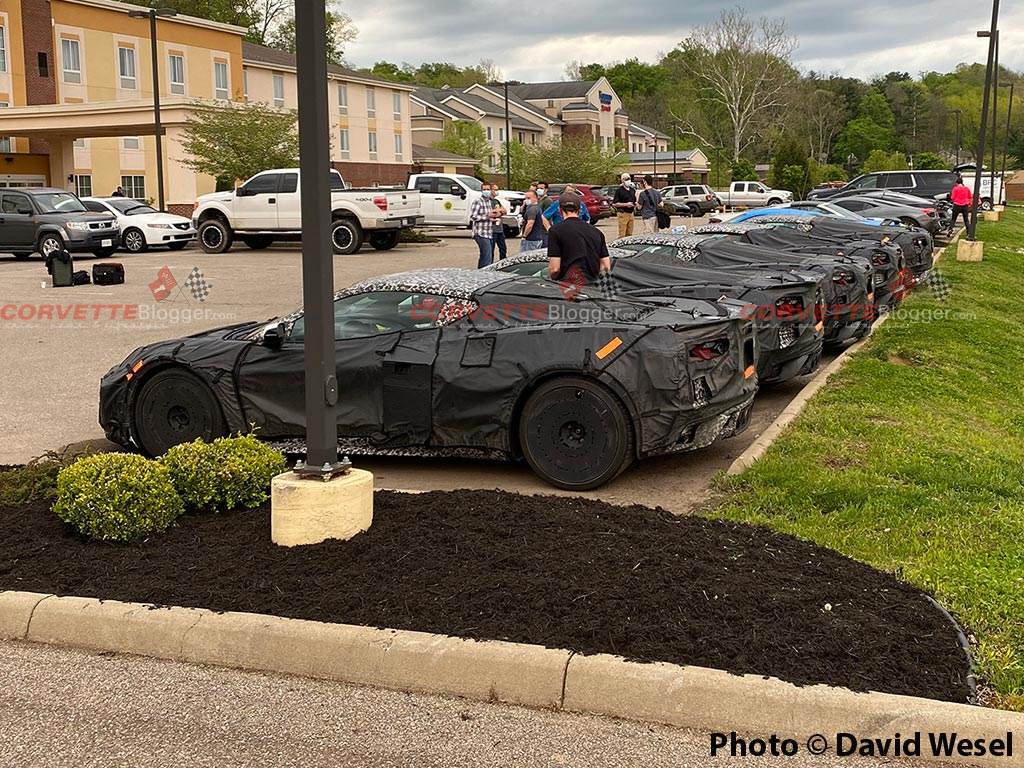 C8 Corvette ZR1/Z06 Prototypes Testing in Ohio