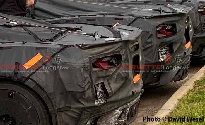 [SPIED] Exclusive Video and Pics of the C8 Corvette ZR1/Z06 Prototypes Testing in Ohio
