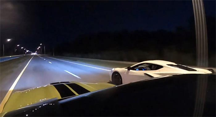 [VIDEO] C8 Corvette Stingray Takes on a Tuned Mustang Shelby GT350