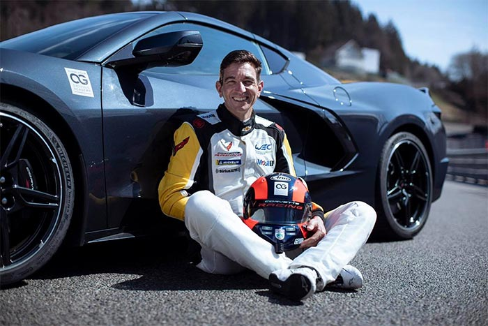 Oliver Gavin Will Retire From Professional Racing After This Weekend's Spa WEC Race in the C8.R