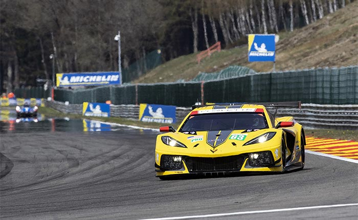 Corvette Racing's Antonio Garcia 'Gave All' to Get Oliver Gavin on the Podium in Final Race