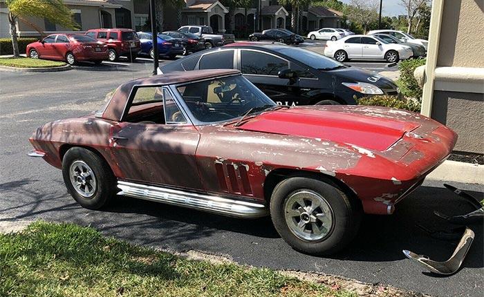 Corvettes for Sale: 1965 Corvette Barn Find