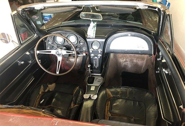Corvettes for Sale: 1965 Corvette 327/350 Barn Find