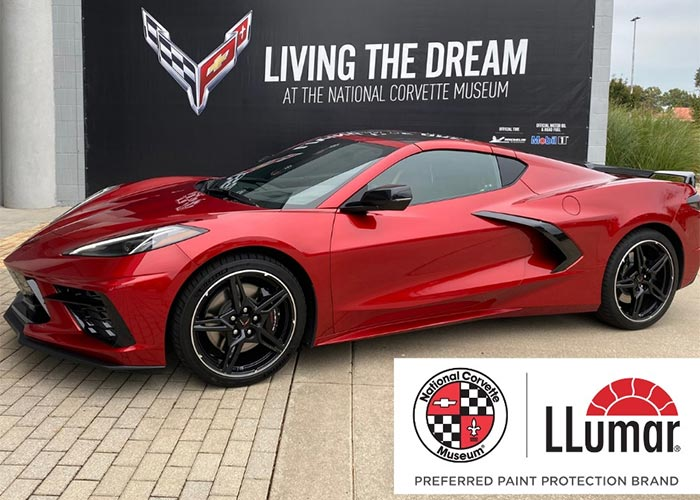 National Corvette Museum Selects LLumar as its Preferred Paint Protection Film