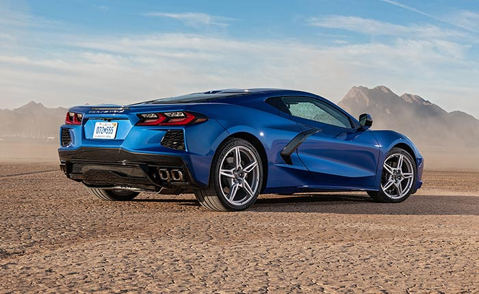 C8 Corvette Expected to Make Australian Debut During Final Roar Tribute at The Bend