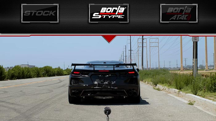 [VIDEO] Borla Reveals Details of S-Type and Atak Exhaust Systems for the C8 Corvette