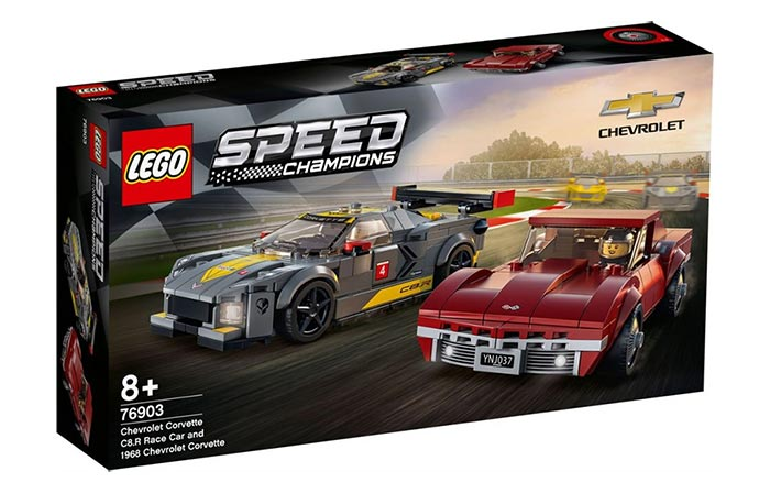 Lego Corvette C8.R and C3 Caught Testing in Germany!