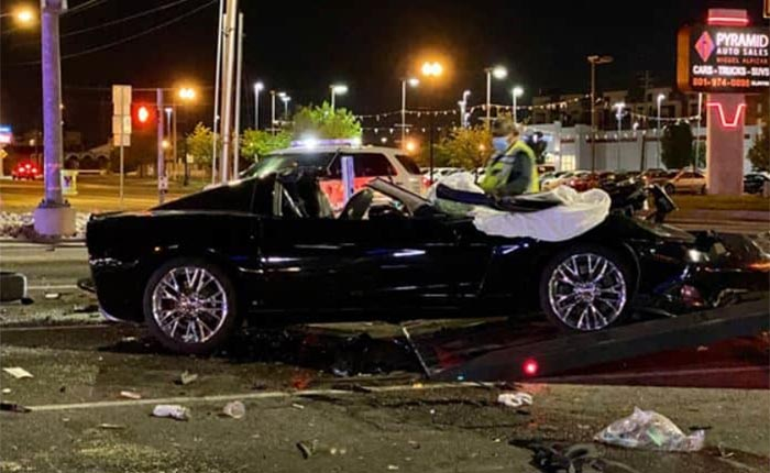 [ACCIDENT] C6 Corvette Caught Up In a Multi-Vehicle Crash