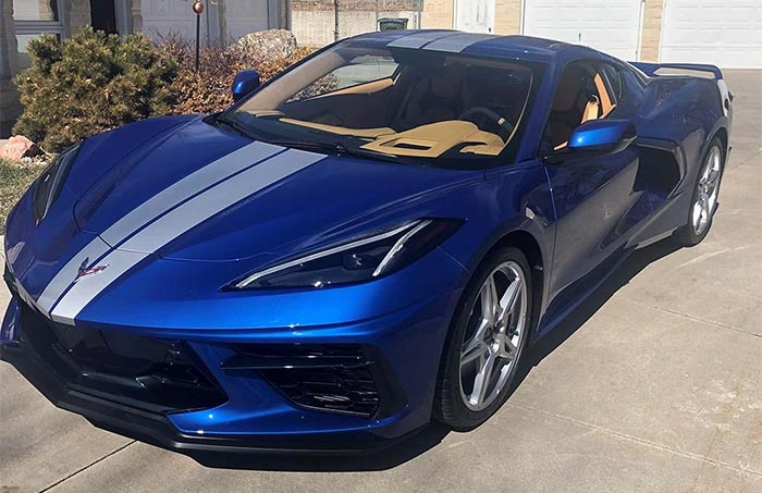 2020 Corvette Coupe in Elkhart Lake Blue