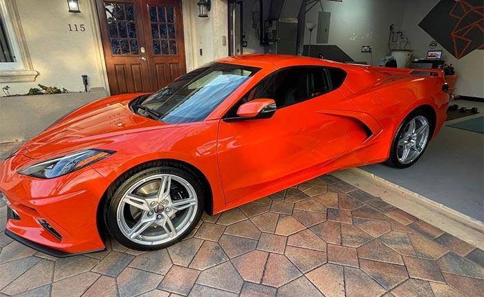 2021 Corvette Coupe in Sebring Orange