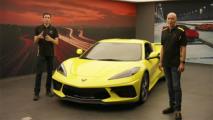 [VIDEO] Oliver Gavin and Patrick Herman at the European C8 Corvette Reveal