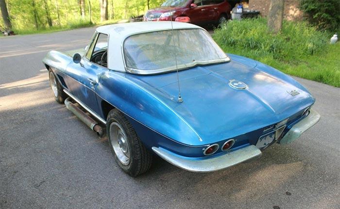 Corvettes for Sale: 1967 Corvette L79 327/350 Barn Find
