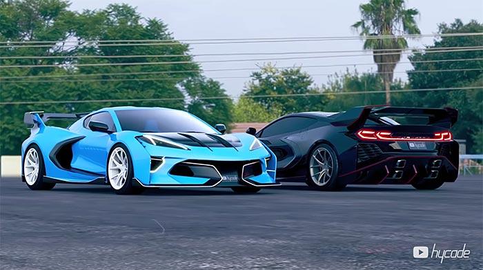 [VIDEO] C8 Corvette Gets the Hypervette Treatment from Digital Artist hycade