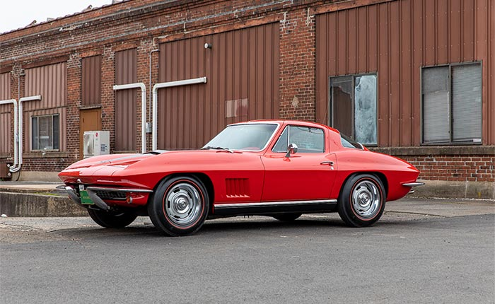 Corvettes for Sale: Red/Red 1967 Corvette 427/435 Coupe on Collectors Xchange
