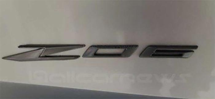 [RUMOR] Is This Logo the New Emblem for the C8 Corvette Z06?