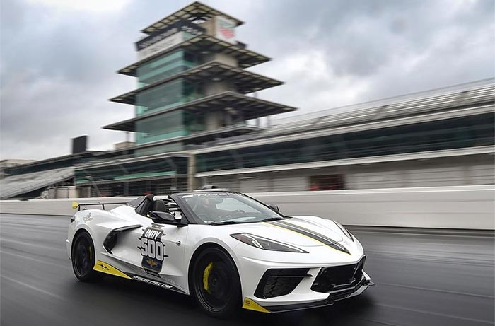 [VIDEO] Take a Lap in the 2021 Corvette Convertible Indy 500 Pace Car with IMS President Doug Boles