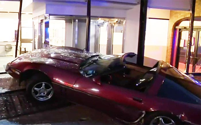 [ACCIDENT] C4 Corvette Sent Crashing Into Bank After Collision with Drunk Driver