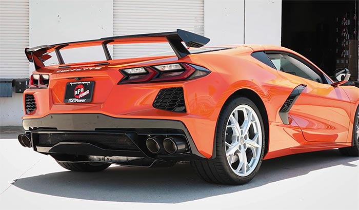 [VIDEO] aFe Introduces its MACH Force Xp Cat-Back Exhaust for the C8 Corvette