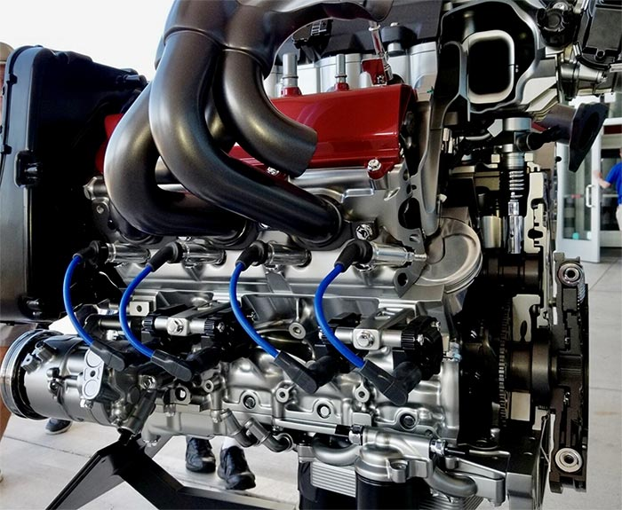 Chevy Wants You To Keep Your LT2 Motor Running