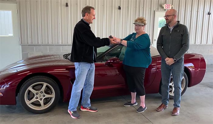 [VIDEO] Woman Donates a 2003 Corvette to the NCM's  Educational Program in Memory of Late Husband