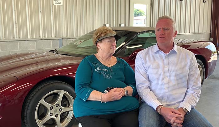 [VIDEO] Woman Donates a 2003 Corvette to the Corvette Museum's Educational Program in Memory of Late Husband