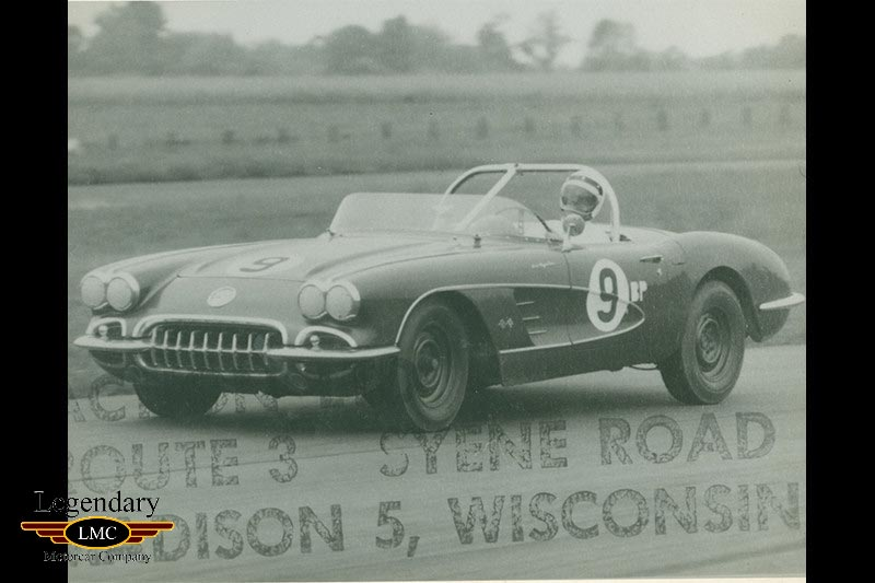 Corvettes for Sale: 1959 Corvette Racer with Ties to Shelby and the Scaglietti Corvettes