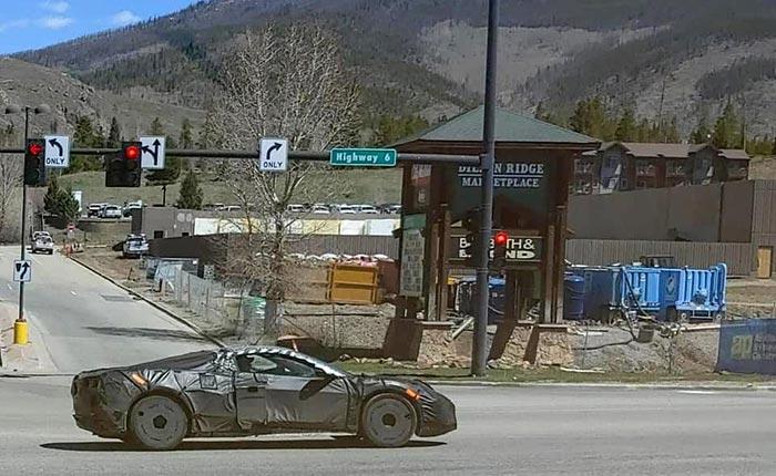 Corvette Z06 Prototype in Colorado