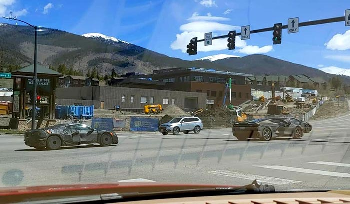 [SPIED] Round-Up of C8 Corvette Sightings from Colorado