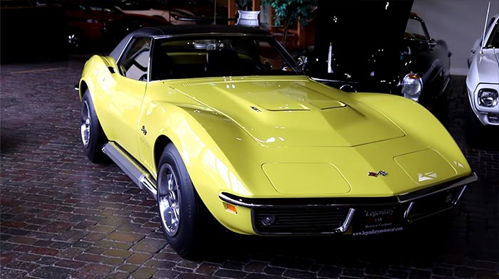 [VIDEO] Legendary Motor Car Talks Big Blocks with their 350-mile 1969 Corvette L89 Convertible