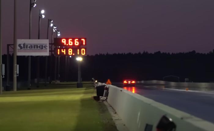 [VIDEO] FuelTech's C8 Corvette Goes Wheels Up at the Dragstrip