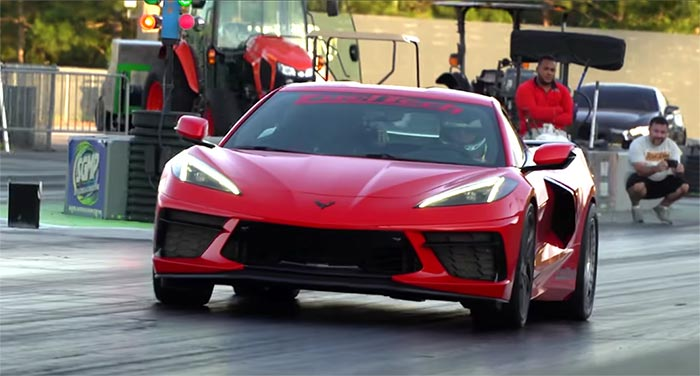 [VIDEO] FuelTech's C8 Corvette Goes Wheels Up at the Dragstrip and Sets New Trap Speed Record