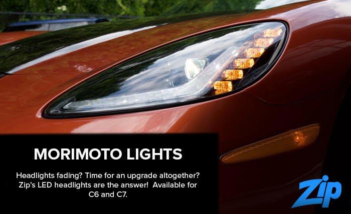 Modernize Your C6-C7 Corvette's Headlights with Morimoto XB LEDs from Zip Corvette