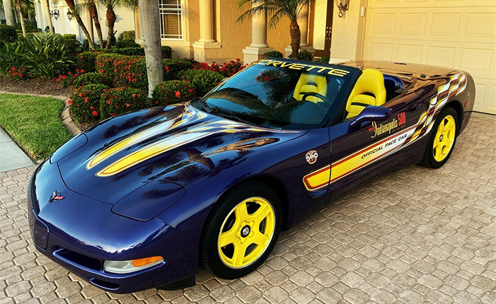 Corvettes for Sale: Lead the Pack in Your Very Own 1998 Corvette Indy 500 Pace Car