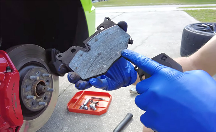 [VIDEO] C8 Corvette Receives Front and Rear Brake Pads in DIY Instructional Videos