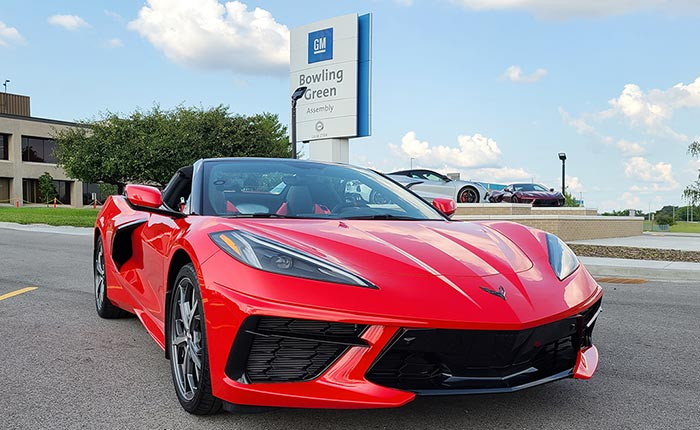 Corvette Assembly Plant to Close for Second Consecutive Week Amid Parts Shortage