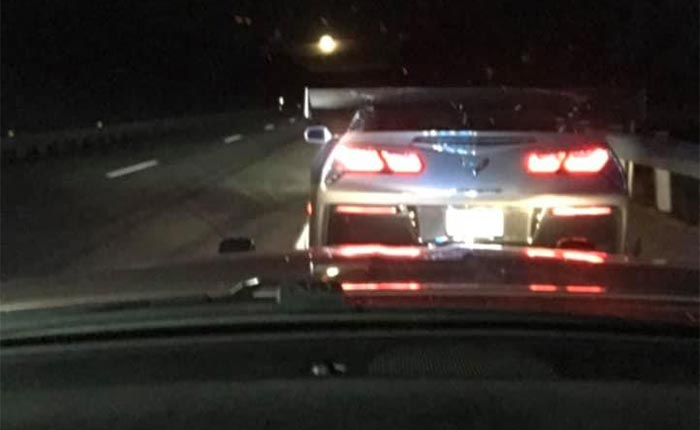 Man Caught Driving C7 Corvette at 150 MPH Arrested in New Hampshire