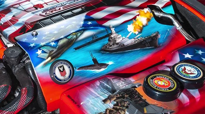 [VIDEO] Patriotic 2016 Corvette Z06 Is A Rolling Tribute to Veterans