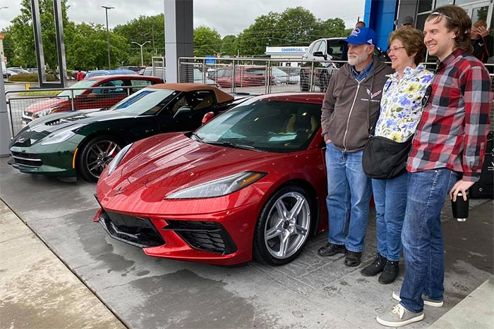 Corvette Delivery Dispatch with National Corvette Seller Mike Furman for May 30th