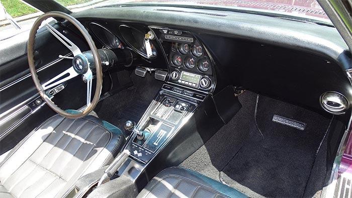 Corvettes for Sale: Cordovan Maroon 1968 Corvette Convertible