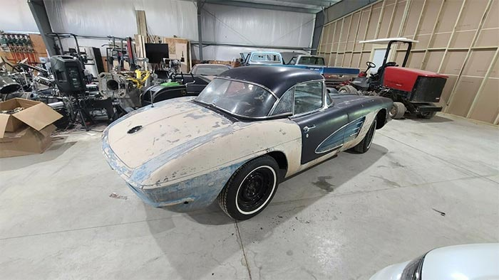 This Matching Numbers Fuelie 1961 Corvette Project Car Was Too Nice to Restomod