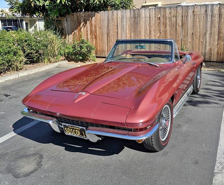 Corvette Values: 1967 Corvette Convertible Sells on Facebook in Two Days for $59,000