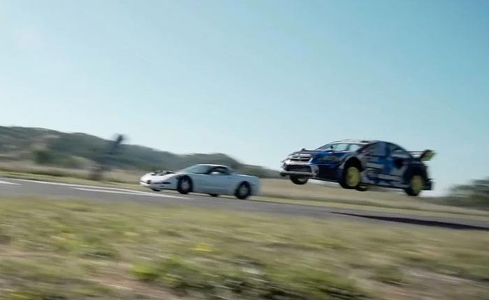 [VIDEO] This vs That Has Cleetus and a Twin-Turbo C5 Racing Travis Pastrana and a Subaru WRX Rally Car