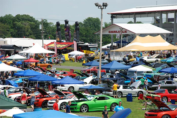 Make Your Plans to Visit Carlisle's GM Nationals And Corvettes for Chip on June 25-26th