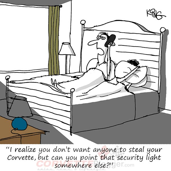 Saturday Morning Corvette Comic: Don't Be the Neighbor From Hell
