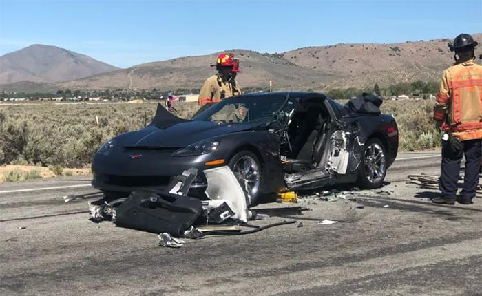 [ACCIDENT] A C6 Corvette Driver Was Charged for Failure to Yield in this Two-Car Crash